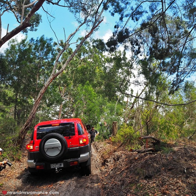 Mr & Mrs Romance - Insta Diary - 13 Mrs R off road