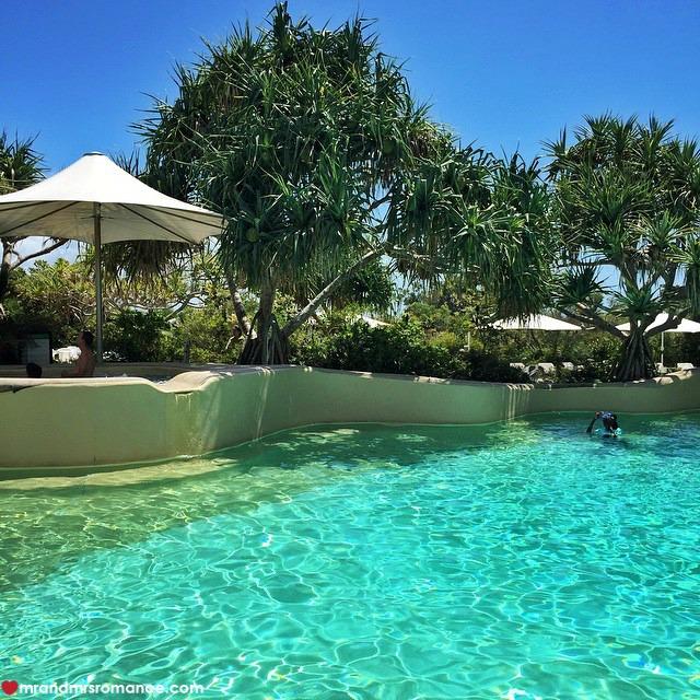 Mr & Mrs Romance - Insta Diary - 2 pool at Kingfisher Bay Resort