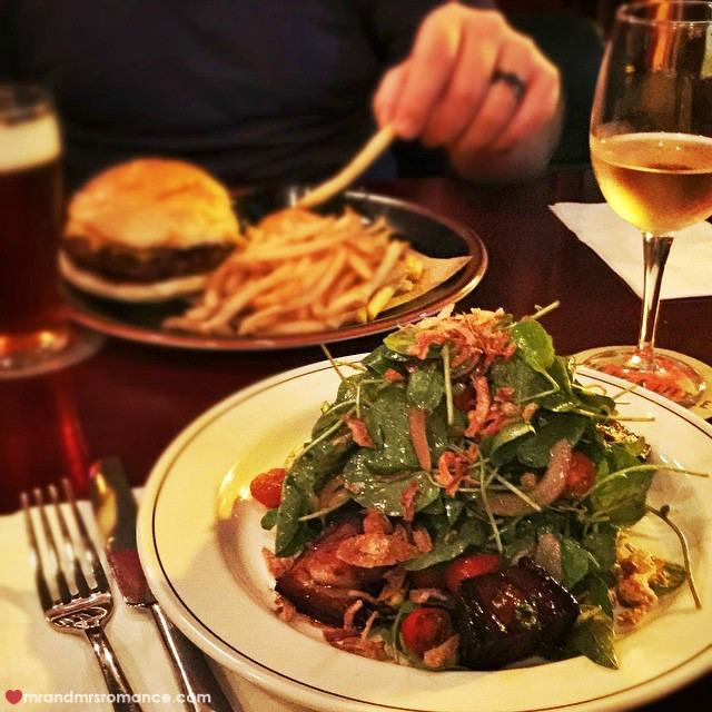 Mr & Mrs Romance - Insta Diary - 3 dinner at Harpoon Harry's