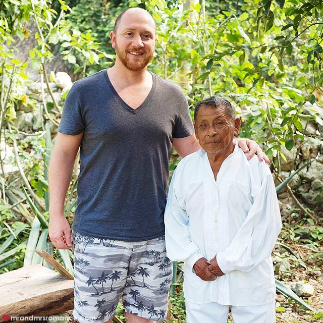 Mr & Mrs Romance - Insta Diary - 6 me and a Mayan man