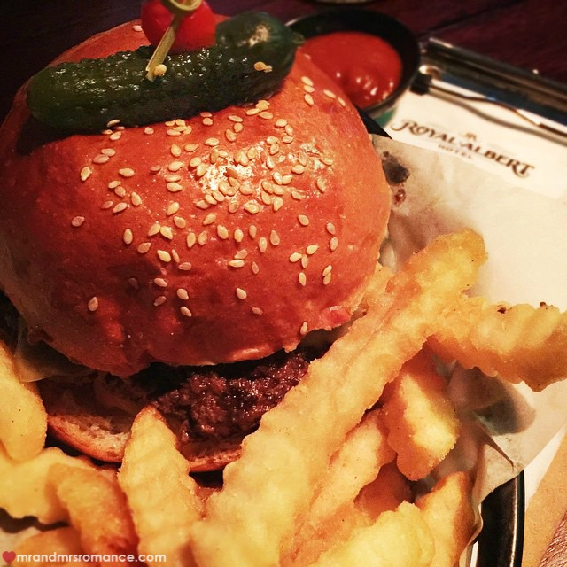 Mr & Mrs Romance - Insta Diary - 7 the exultant Royale with Cheese