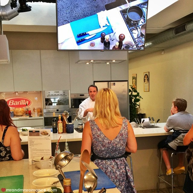 Mr & Mrs Romance - Insta Diary - 8 cooking class with Barilla