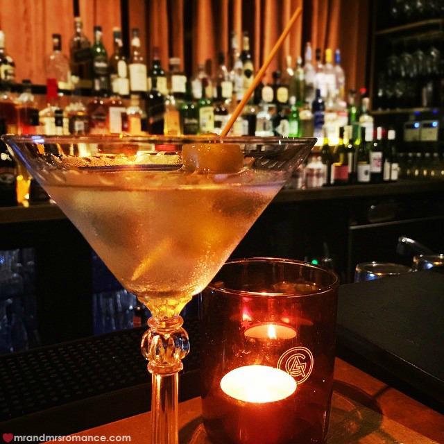 Mr & Mrs Romance - Insta Diary - 8 martini at the Golden Age