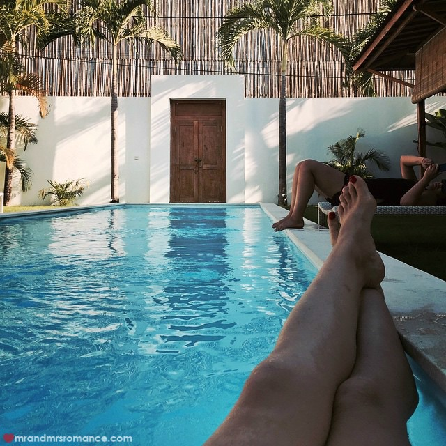 Mr & Mrs Romance - Insta Diary - 8aCB3 Bali pool time