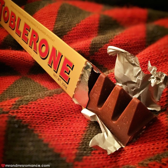 Mr & Mrs Romance - Insta Diary - 3 Toblerone happiness