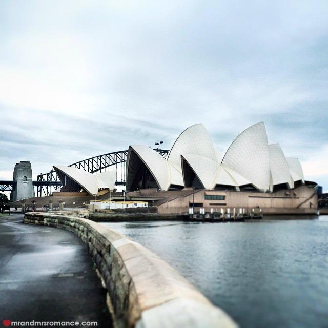 Mr & Mrs Romance - Insta Diary - 8 grey Sydney