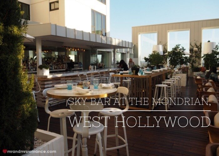 Mr & Mrs Romance - West Hollywood - 2 Sky Bar Mondrian