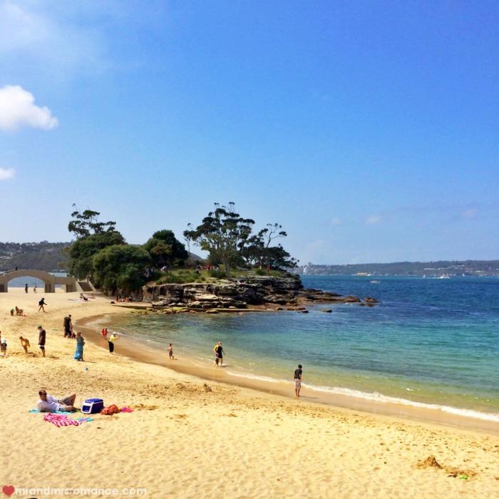 Mr & Mrs Romane - explore Sydney Harbour - Balmoral