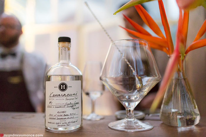 Mr and Mrs Romance - 5 Rare and Exotic Foodie Finds - Hendricks Gin