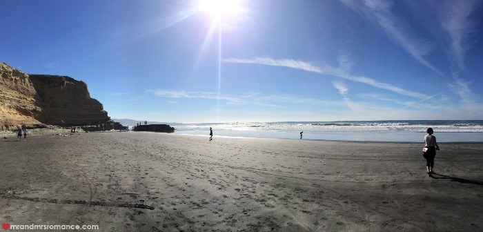 Mr and Mrs Romance - Hiking in Torrey Pines - San Diego - 15 beach pana
