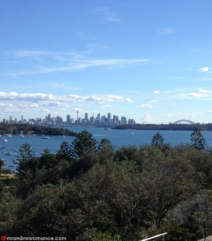 Mr & Mrs Romance - 24 hrs Syd - Watsons Bay view