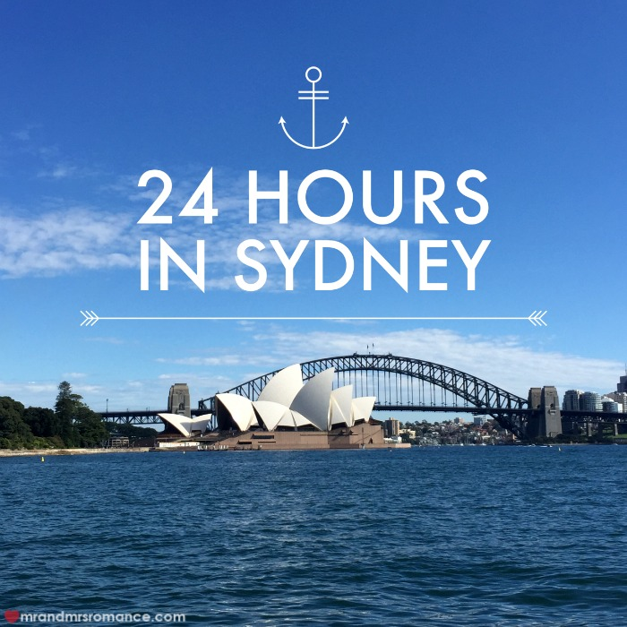 Mr & Mrs Romance - 24 hrs Syd - title 1