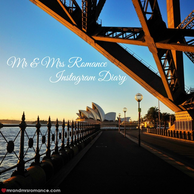 Mr & Mrs Romance Instagram Diary - Sydney Harbour icons