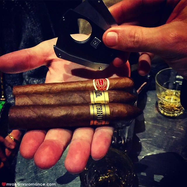 Mr & Mrs Romance - Insta Diary - 10a cigar time