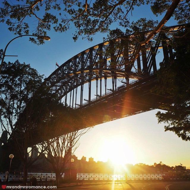 Mr & Mrs Romance - Insta Diary - 4 morning harbour walk
