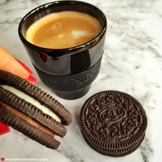 Mr & Mrs Romance - Insta Diary - 5 coffee and Oreos