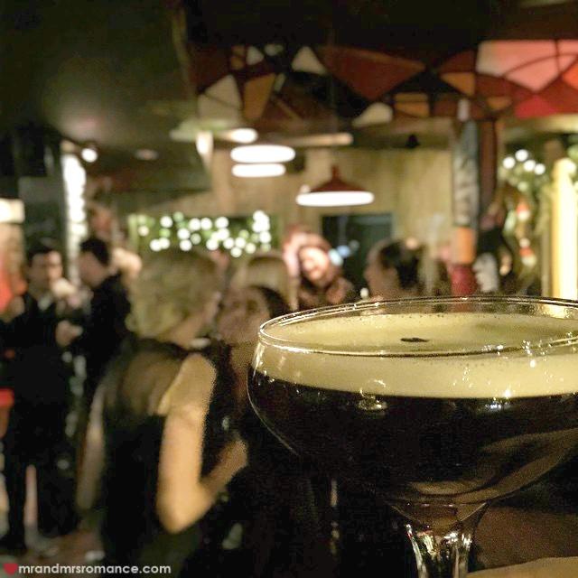 Mr & Mrs Romance - Insta Diary - 5 espresso martini TRG birthday