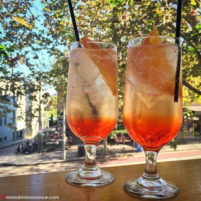 Mr & Mrs Romance - Insta Diary - 8 Aperol spritz at Verona