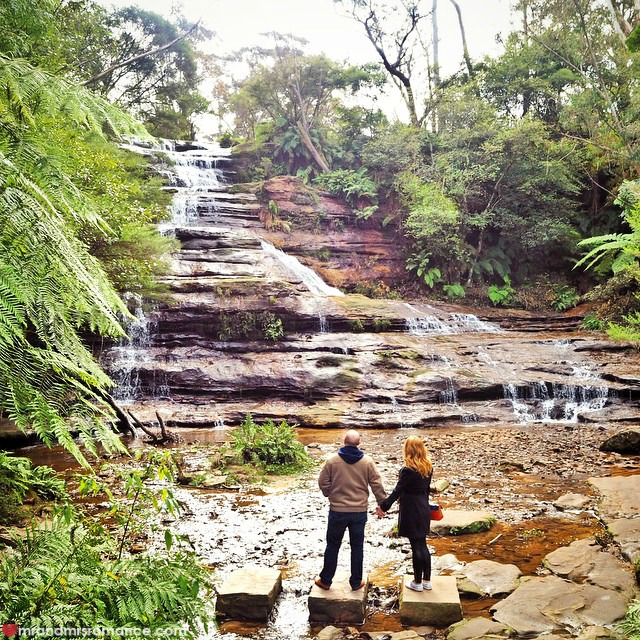 Mr & Mrs Romance - Insta Diary - 9 exploring the Blue Mountains