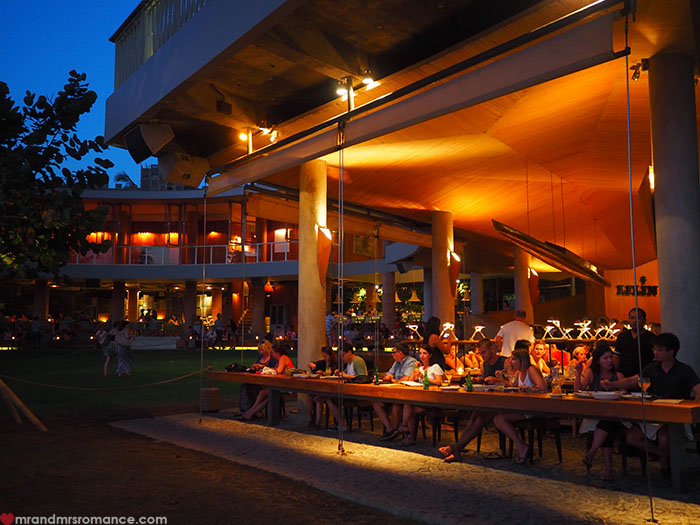 Mr & Mrs Romance - Potato Head Beach, Seminyak, Bali - club exterior