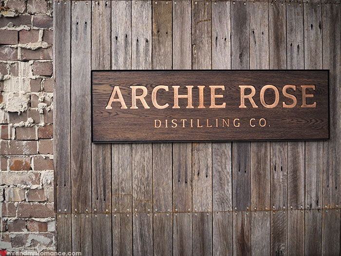 Mr and Mrs Romance - Archie Rose Distilling Co Sydney
