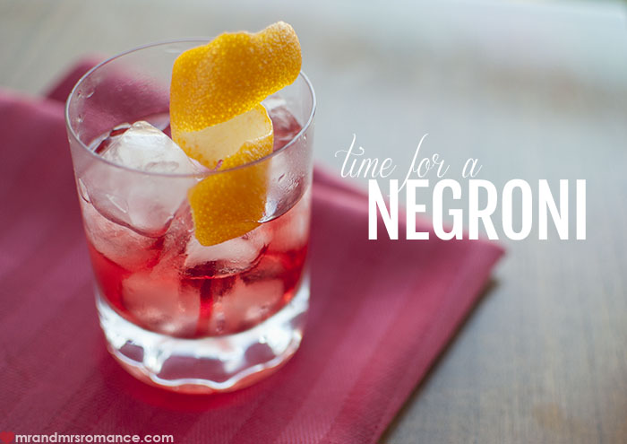 Mr and Mrs Romance - World Negroni Day