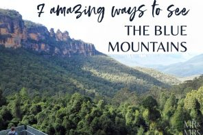 7 amazing ways to see the Blue Mountains