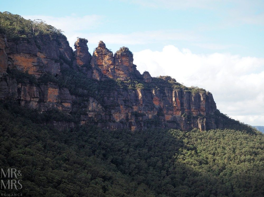 Blue Mountains Scenic World - three sisters