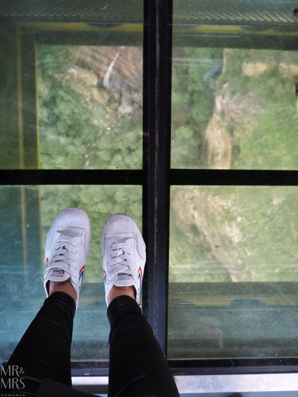 Blue Mountains Scenic Skyway glass bottom