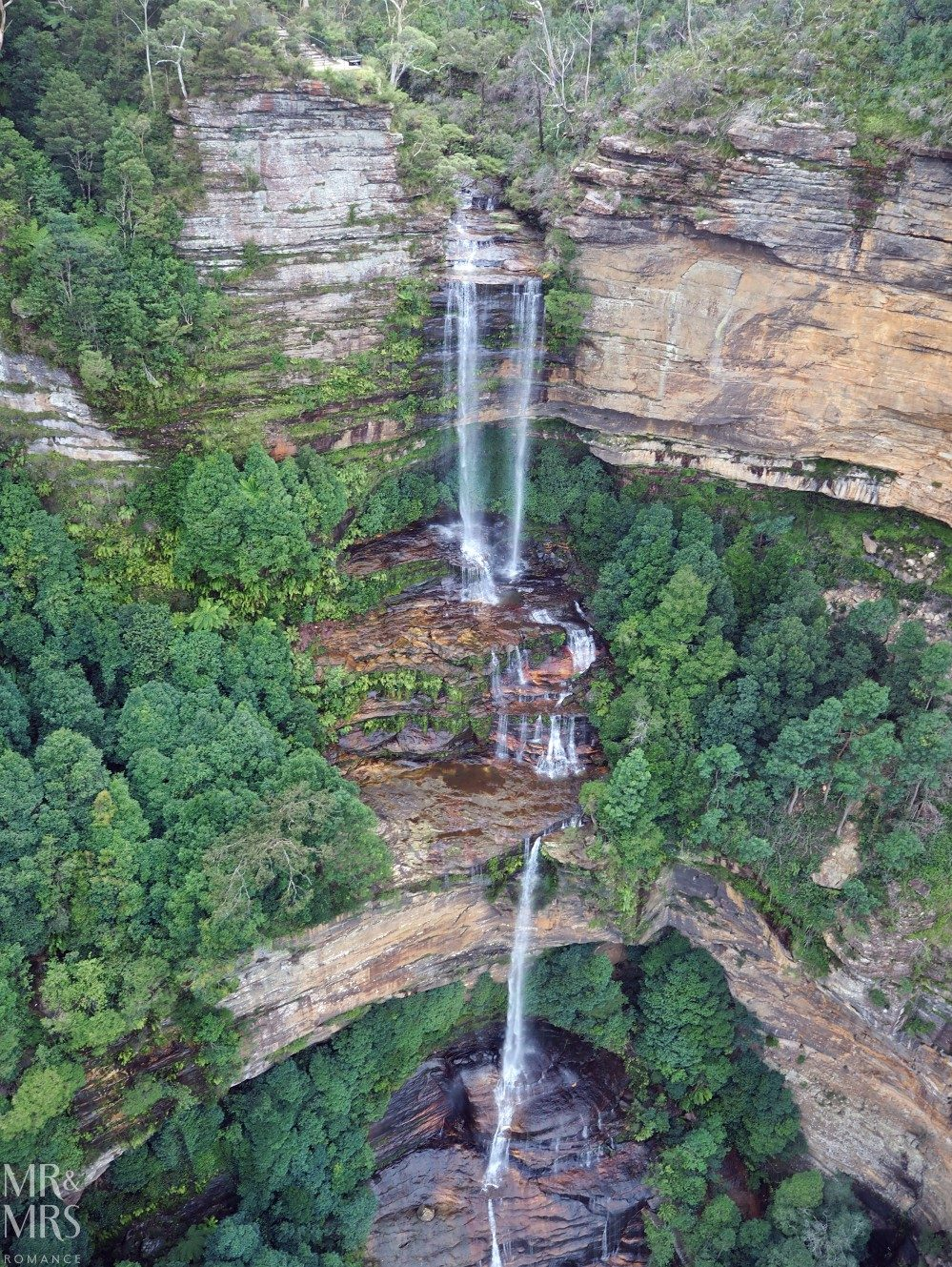 Blue Mountains Scenic World waterfall