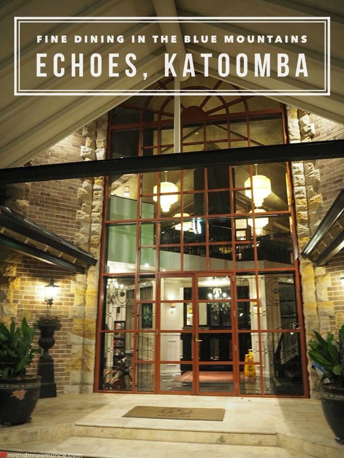Mr & Mrs Romance - Echoes, Katoomba - 1 title