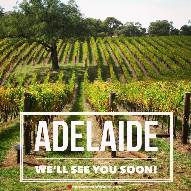 Mr & Mrs Romance - Insta Diary - 3 Little Blog Big Adelaide