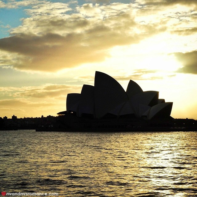 Mr & Mrs Romance - Insta Diary - 8 Sydney sunrise