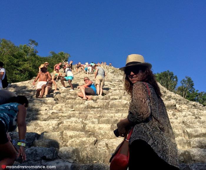 Mr & Mrs Romance - Tulum - 20 Coba pyramid 2