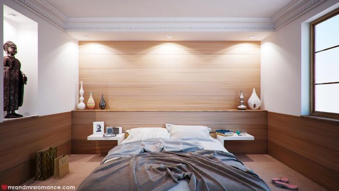 Mr & Mrs Romance - my bed - bed