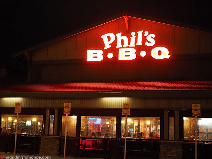 Mr & Mrs Romance | amazing food in San Diego, CA - Phil's BBQ