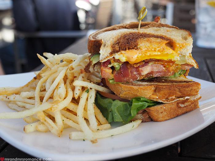 Mr & Mrs Romance | amazing food in San Diego, CA - Barefoot Bar & Grill