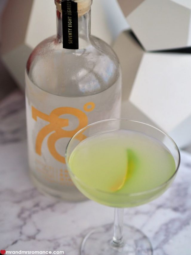 Mr & Mrs Romance - Gimlet - 78 Degrees gin