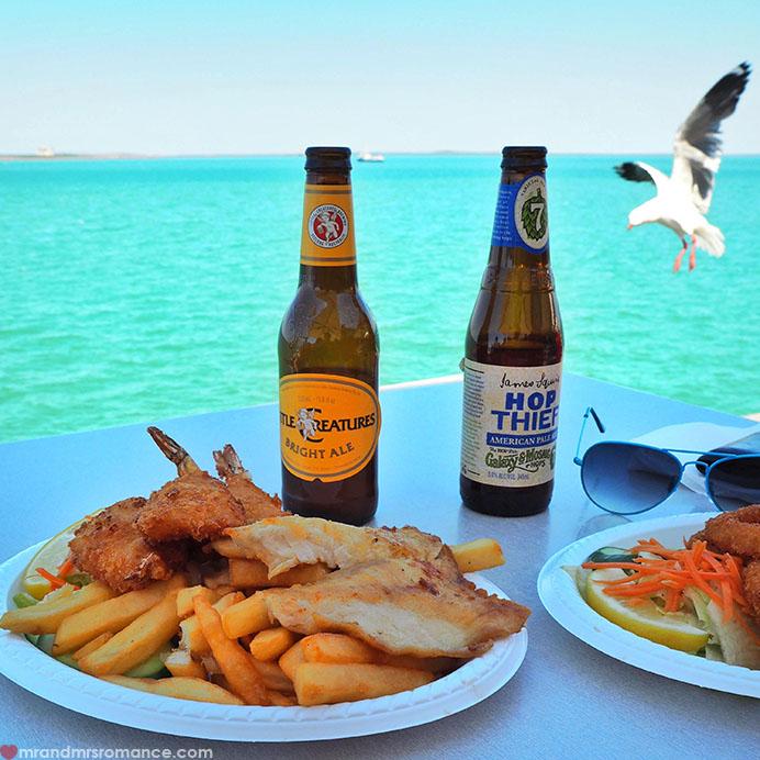 Mr & Mrs Romance - Insta Diary - 16 Darwin fish & chips