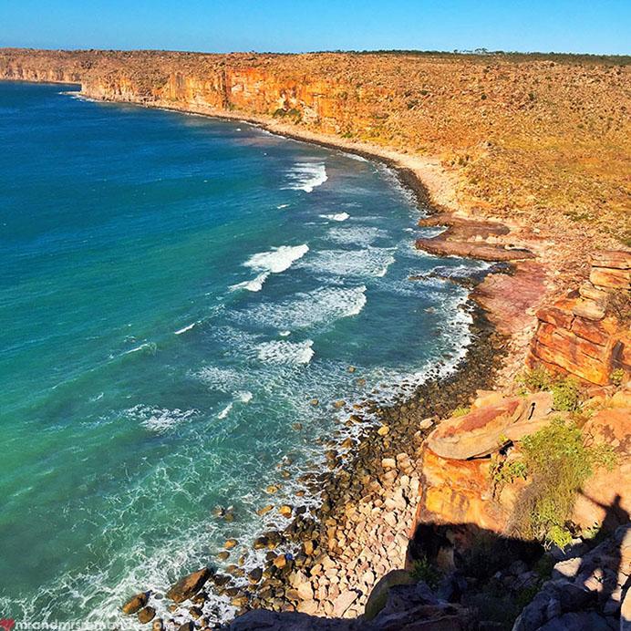 Mr & Mrs Romance - Insta Diary - 3 Vansittart Bay cliffs