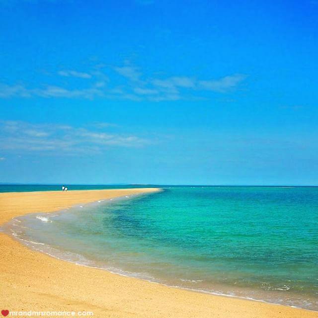 Mr & Mrs Romance - Insta Diary - 4 sandbar Kimberley