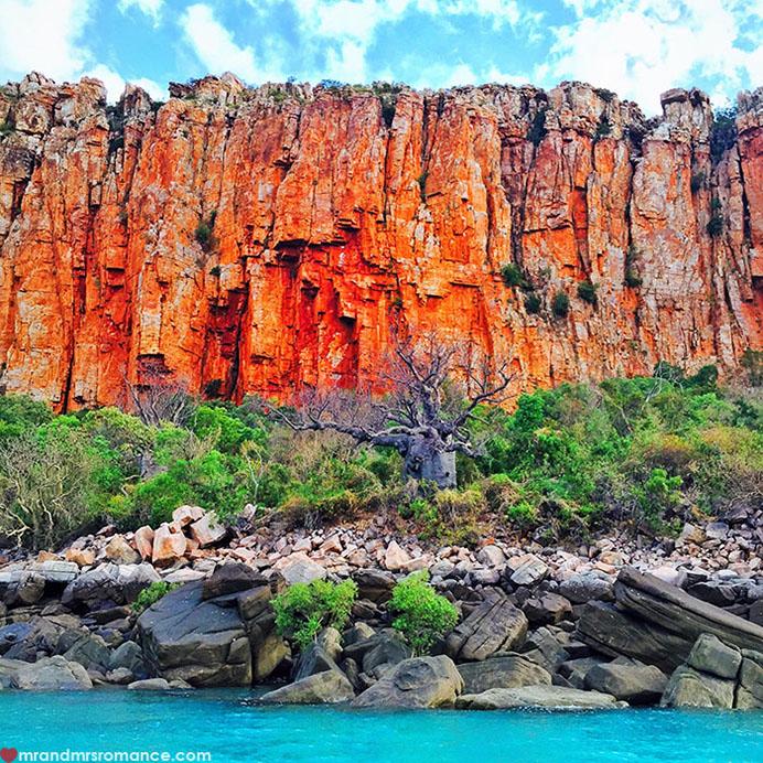 Mr & Mrs Romance - Insta Diary - 5 boab on the cliffs
