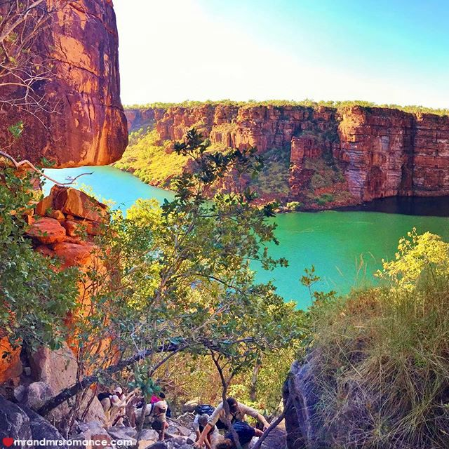 Mr & Mrs Romance - Insta Diary - 6 King George river climb