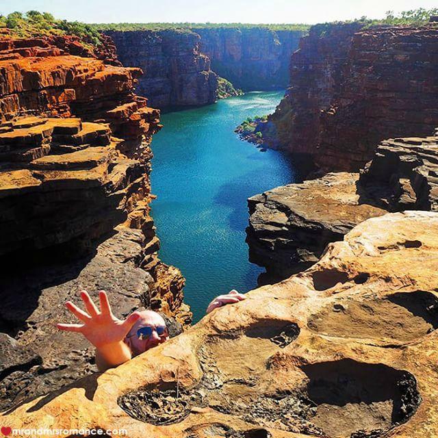 Mr & Mrs Romance - Insta Diary - 7 top of the Kimberley