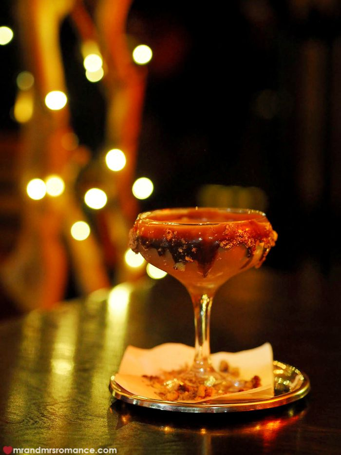 Mr & Mrs Romance - The Morrison, Sydney - fererro cocktail