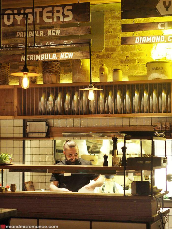Mr & Mrs Romance - The Morrison, Sydney - kitchen