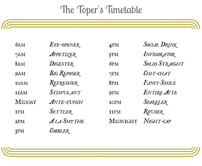 Mr & Mrs Romance - Toper's Timetable