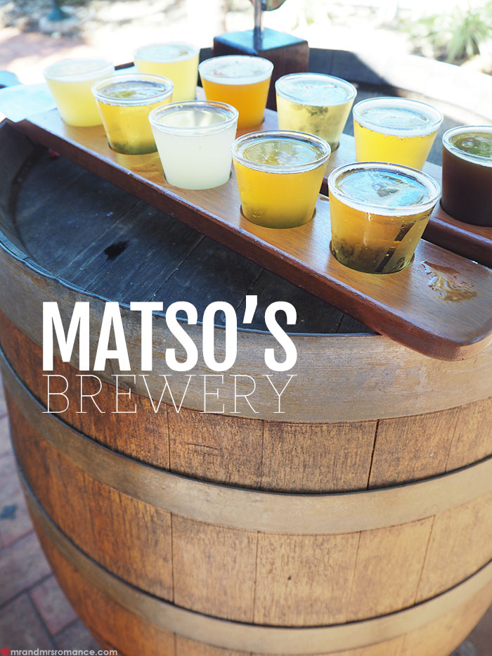 Mr & Mrs Romance - Matso's Brewery, Broome - title