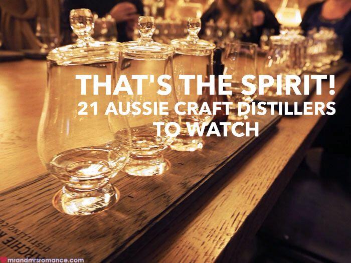 Mr & Mrs Romance - Aussie distillers title