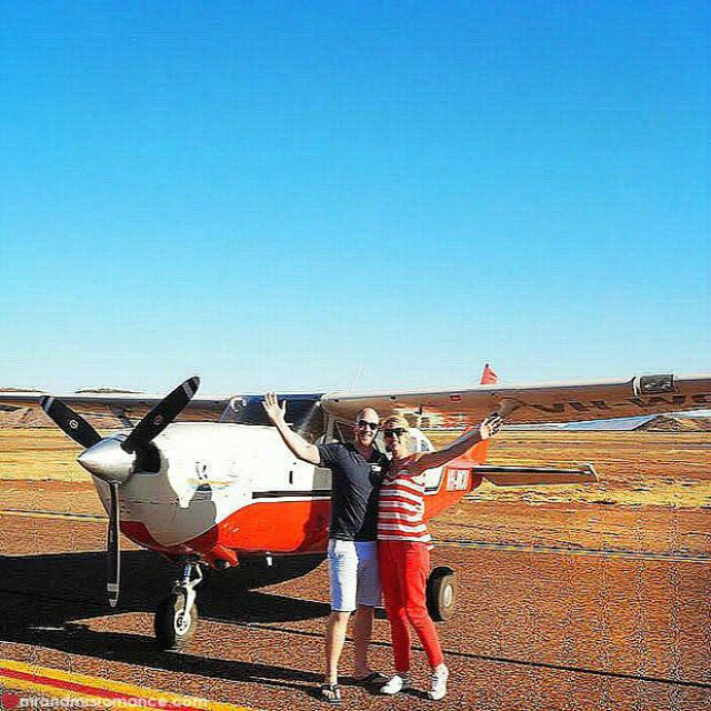 Mr & Mrs Romance - Insta Diary - 3 scenic flight